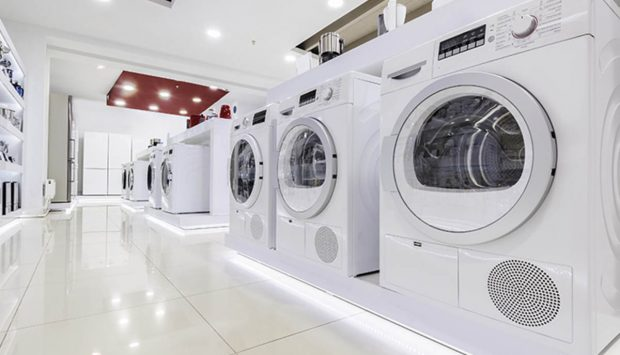 Bacteria reduction in washing machines and air conditioners